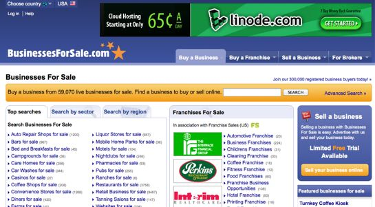 15 best sites for buying selling businesses online for Best online sale sites
