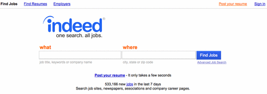 job searching engines