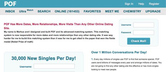 Pof singles dating-site