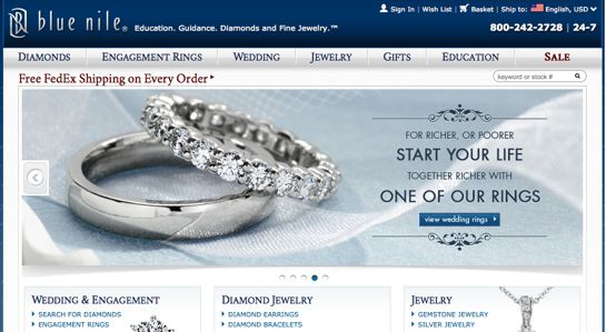 Blue Nile Jewelry Web Site 80