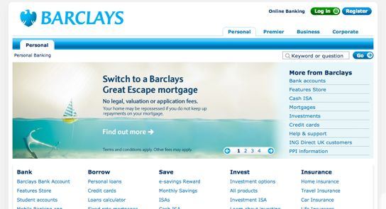 online banking business account barclays