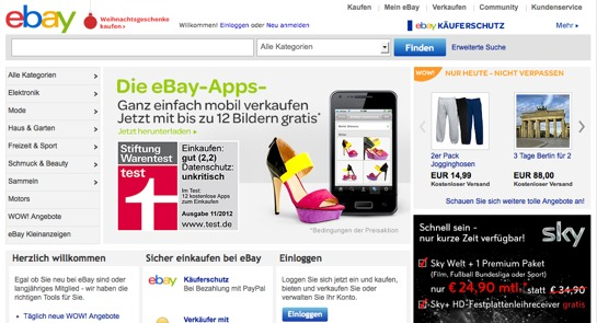 ebay deutschland driverlayer search engine. Black Bedroom Furniture Sets. Home Design Ideas